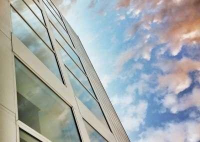 Edificio oficinas, fotografía realizada por indeXMedia
