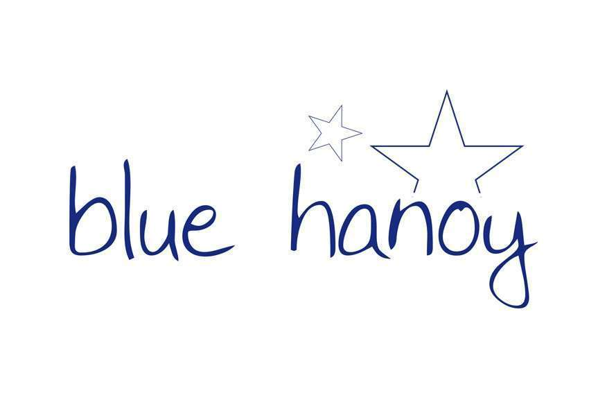 logotipo blue hanoy