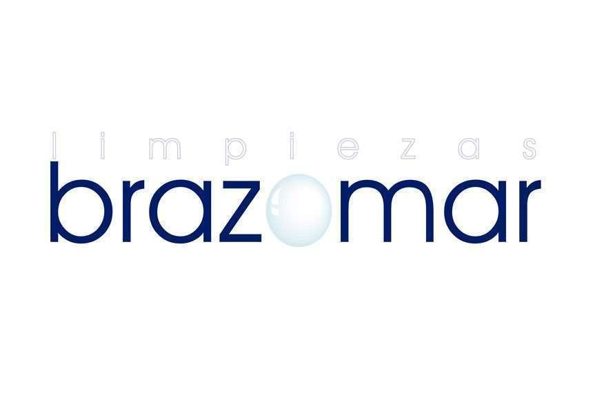 Logotipo Limpiezas Brazomar