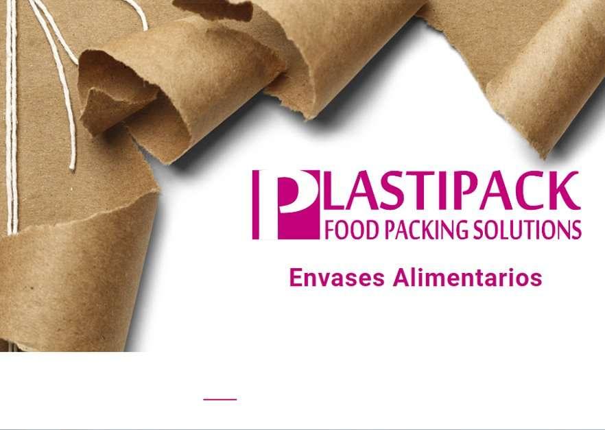 Ejemplo diseño web para Plastipack