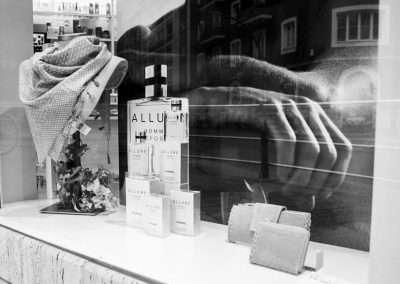 Fotografía escaparate perfumería