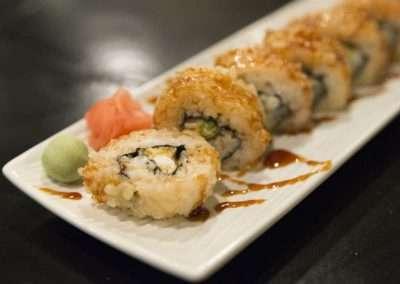Fotografía de sushi para restaurante