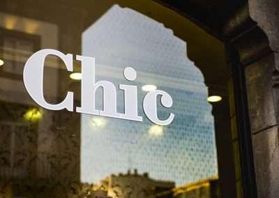 Fotografía logotipo escaparate