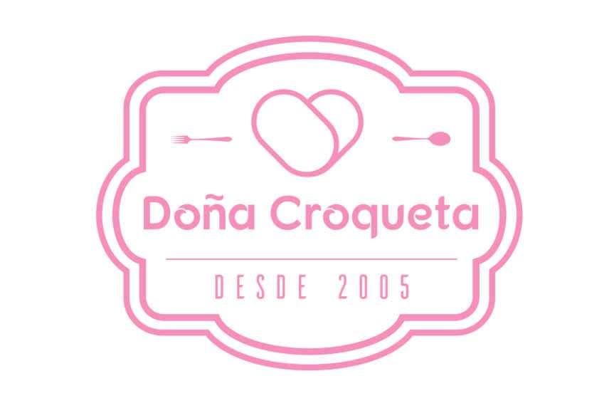 Diseño logotipo Doña Croqueta
