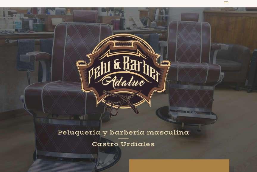 Web Barbería Adaluc en Castro Urdiales