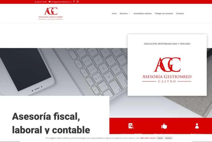 Web asesoría Gestionred Castro