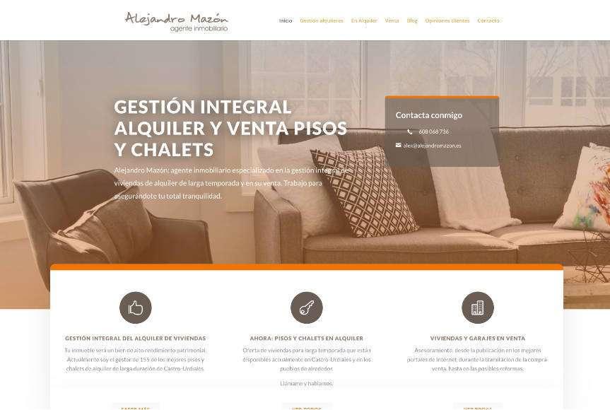Diseño Web Alejandro Mazón